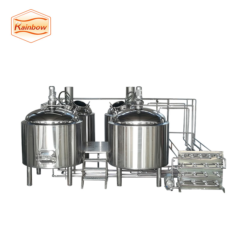 Small beer brewing equipment jacketed fermenter 1500l brewing system for sale