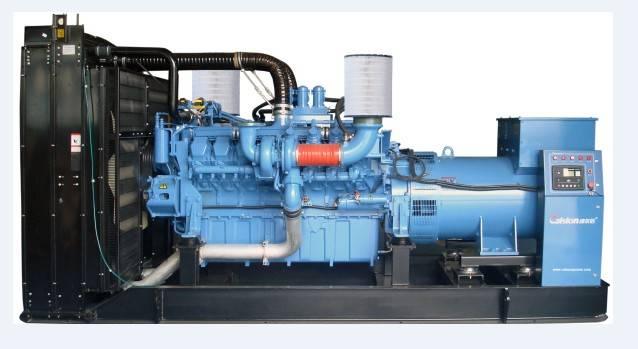 60HZ MTU Open Type Diesel Generator Set