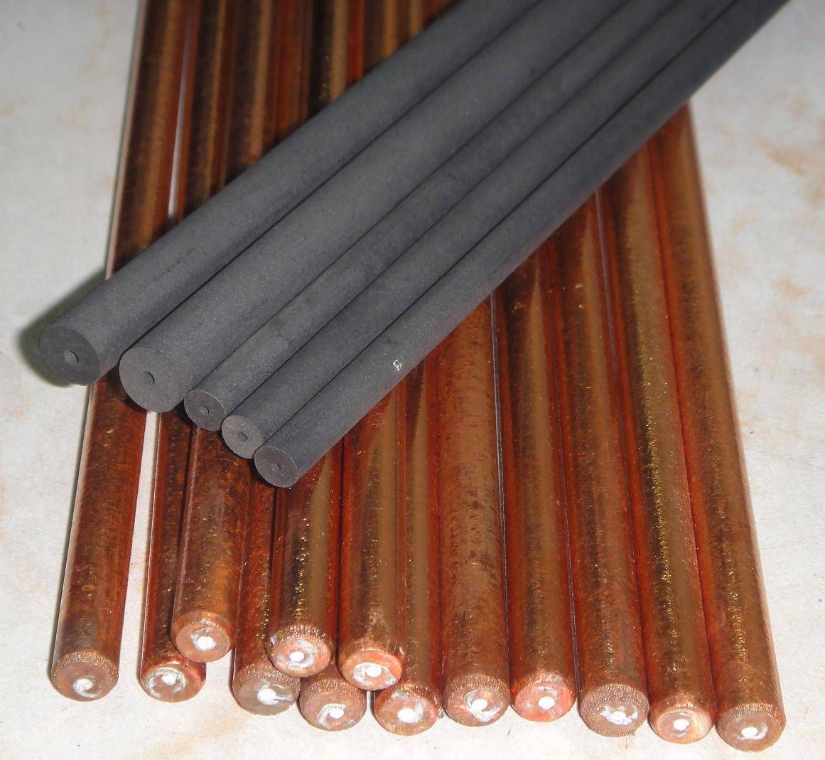 Hollow Core Carbon Rods