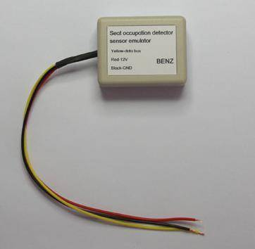 Benz seat sensor emulator