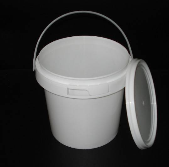 Small Plastic Bucket with Tamper Evident lid ,Yoghurt Packging container