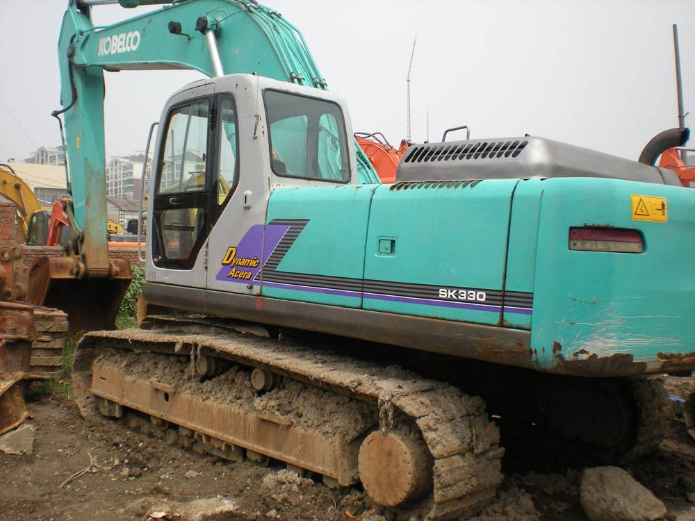 Used Kobelco SK330LC excavator for sale