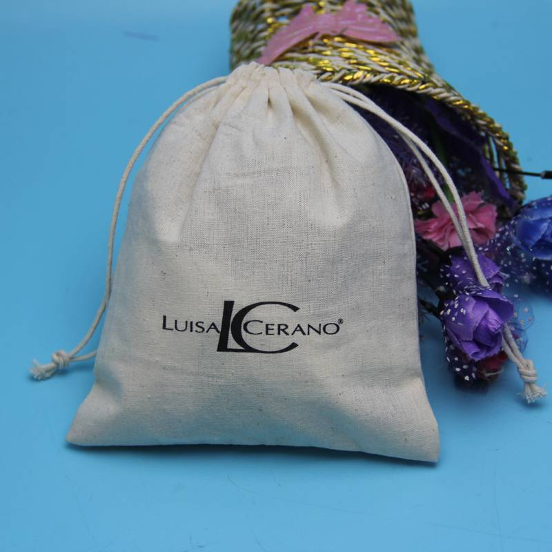 eco friendly drawastring pouch cotton candy pouch