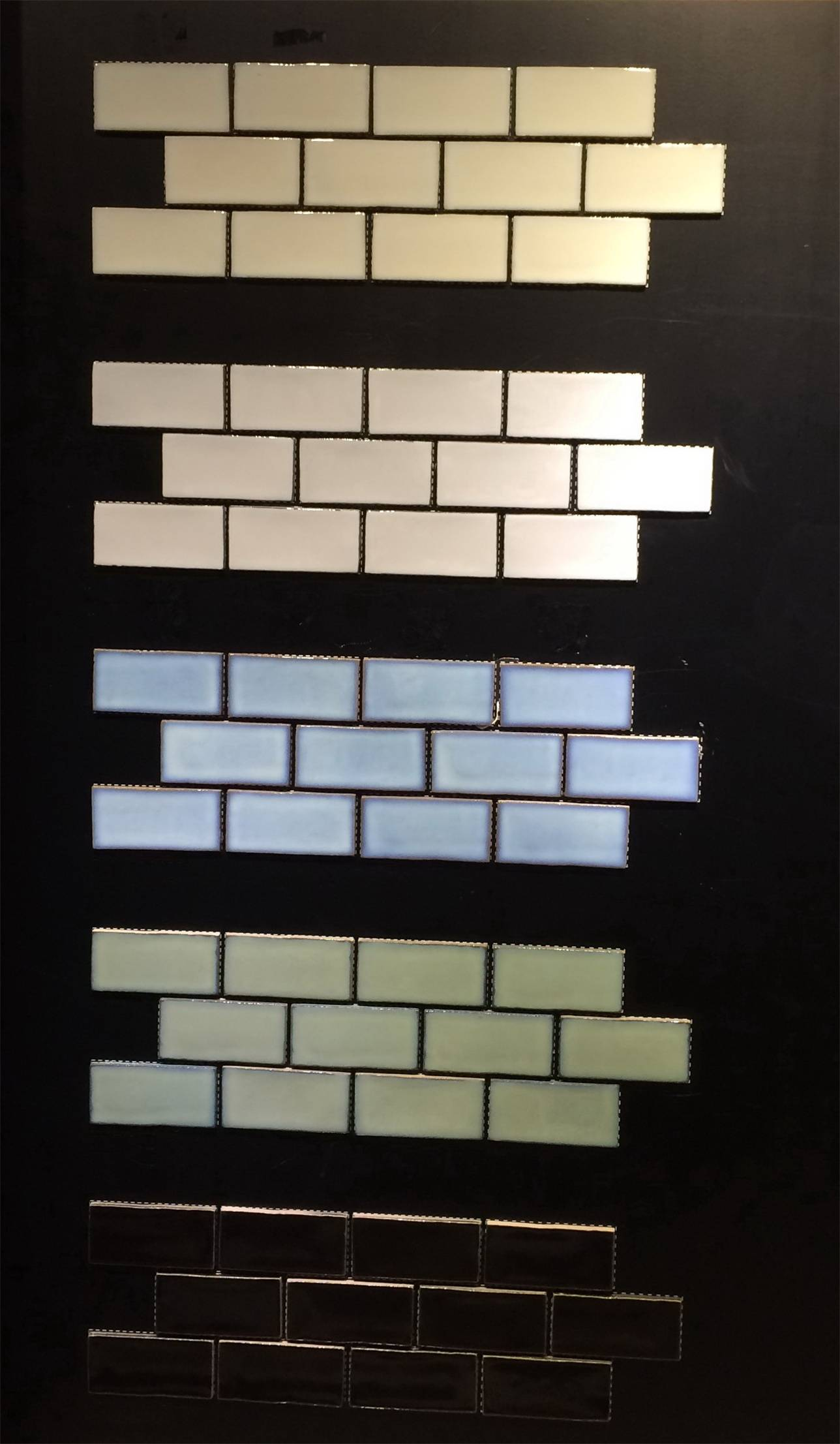 Subway porcelain glazed tiles