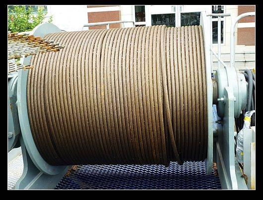 tower crane hoist steel wire rope 16mm