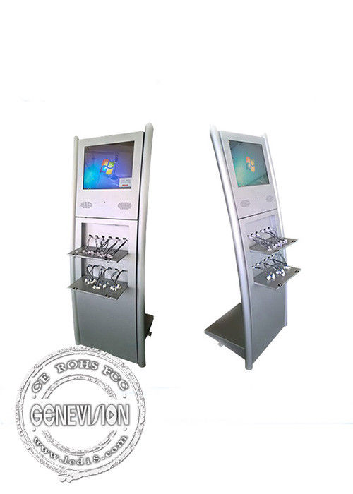 digital Kiosk Touch Screen With Mobile Charging function