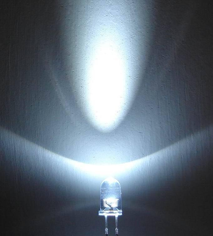 White LED 20000-25000mcd