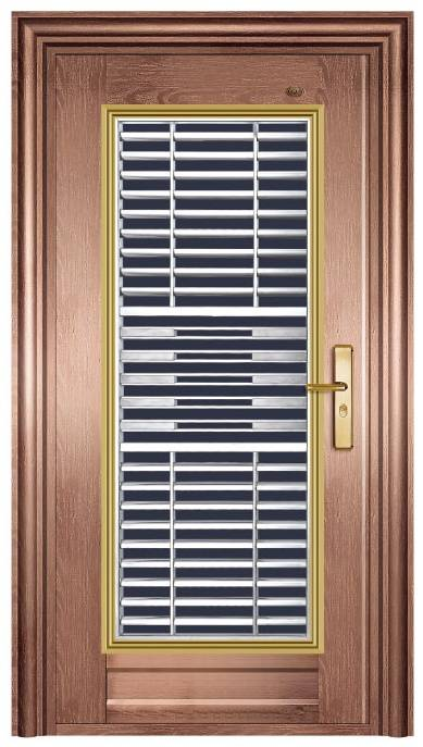2017 new style stainless steel security door DTS-9510