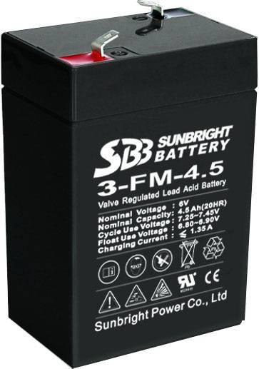 6V4Ah 5V4.5Ah Sealed Lead Acid Battery