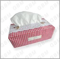 Rectangular Tissue Box, Fabric Tissu Box