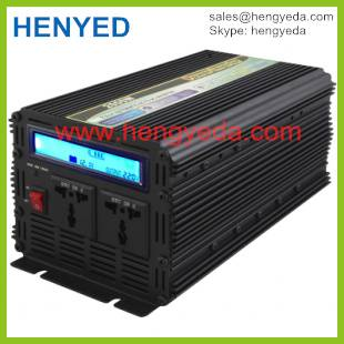 LCD display Dc to ac solar system 2000w power inverter