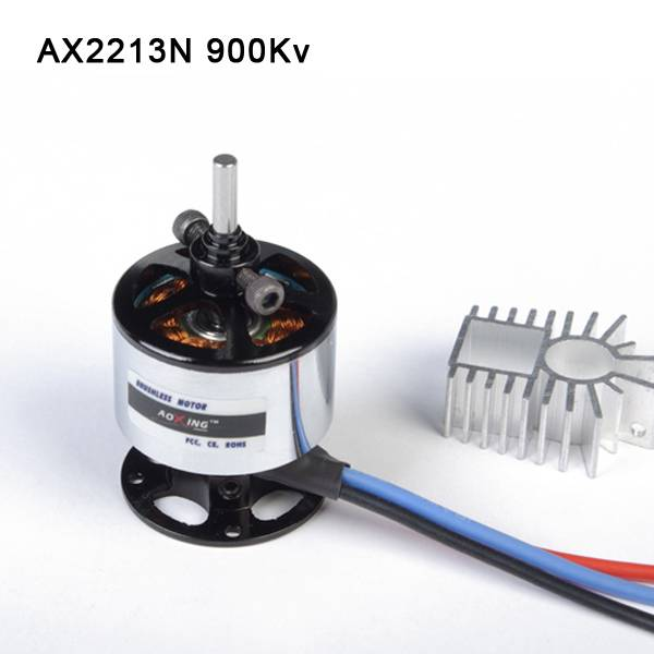 2016 hot selling outrunner brushless motor AX2213N 900Kv for multi-rotor aircraft