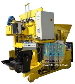 Movable block making machine - EUROBLOCK 12 GT