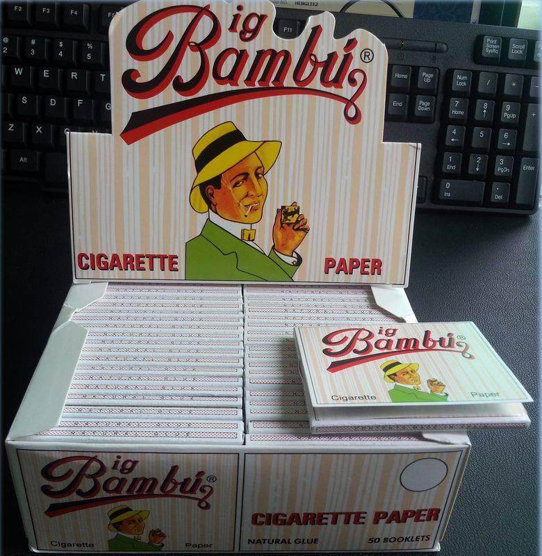 supply Bambu cigarette paper