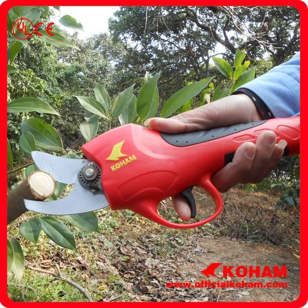 Koham Red Bypass Pruner Garden Scissor (KHAA10000 7-2)