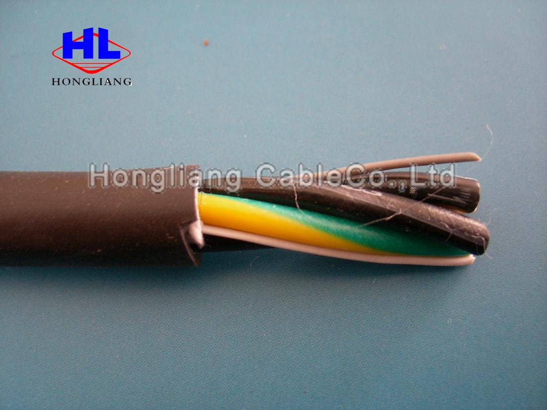 300/300 V Copper Conductor,Flat soft cable without sheath / Electrical wire