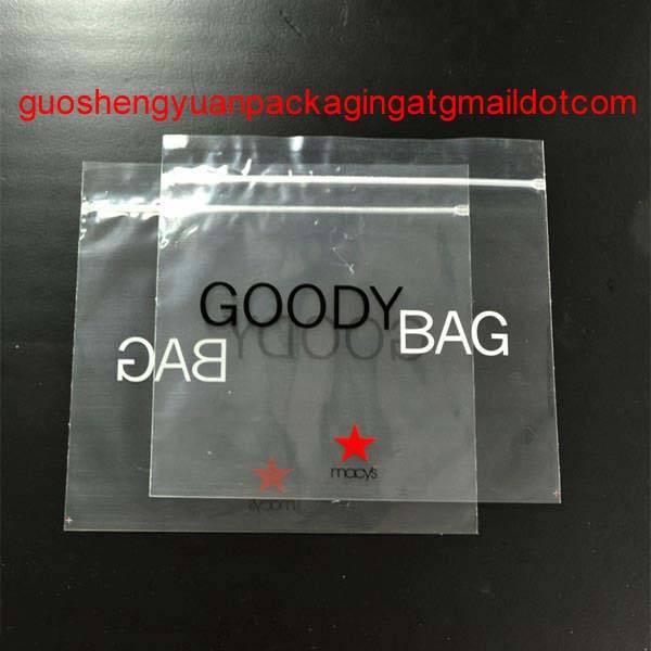 CPP zip lock bag