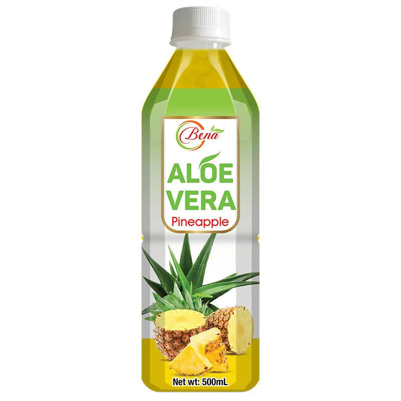 500ml Pet Bottle Natural Aloe Vera With Pineapple Juice (Best natural beverage companies)
