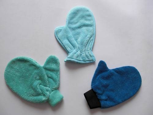 Microfiber Cleaning Mitts Offer