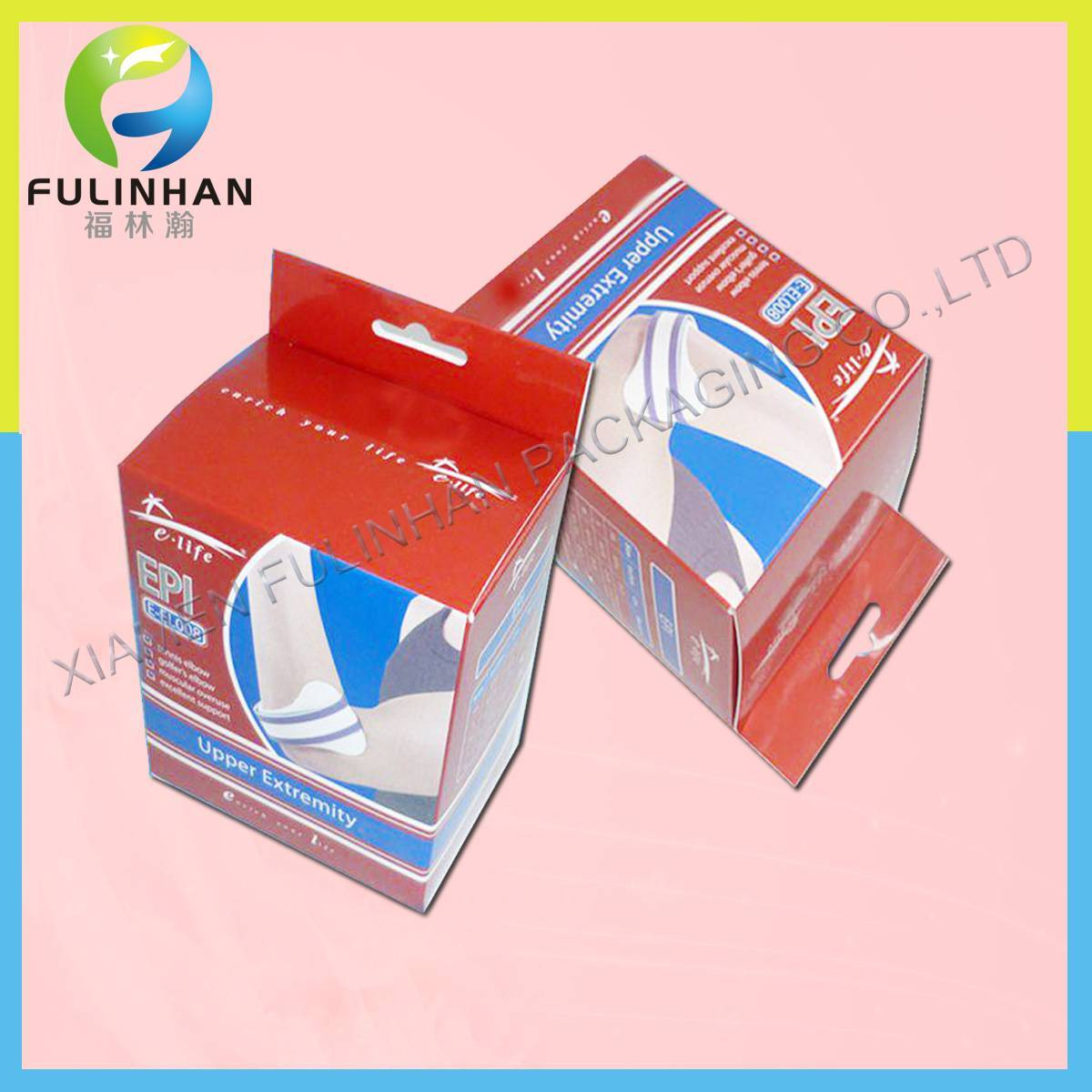 PP packaging boxes with hanger