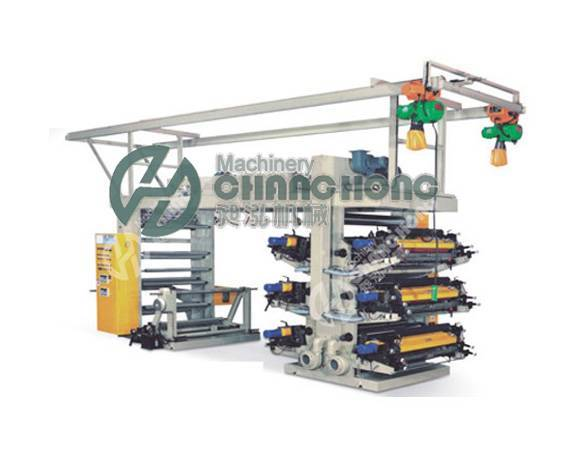 High Speed 6 Color Flexographic Paper Printing Machine(CH-886)