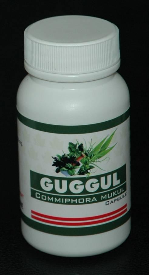 Herbs Guggul (Commiphora Mukul) Capsule (90 Capsules)