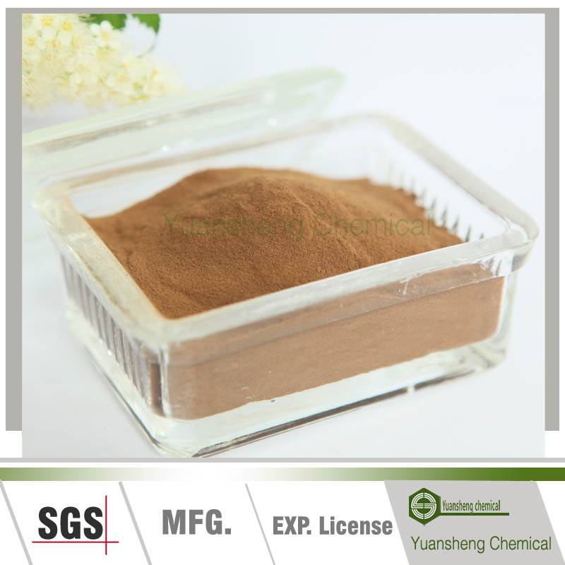 Sodium lignosulphonate concrete admixtures