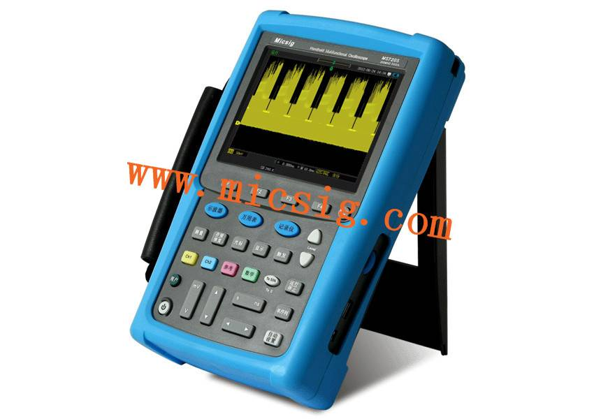 Oscilloscope /scopemeter 100/200Mhz touch operation