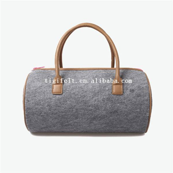 wool felt bag, felt laptop bag, felt shoulder bag