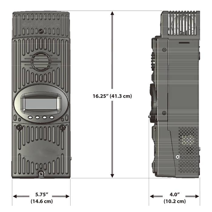 MPPT solar controller 60A 80A