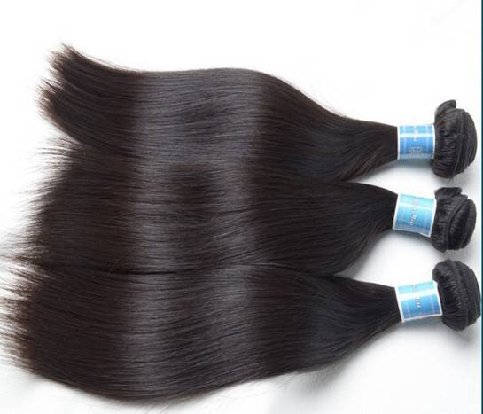 Brazilian human virgin hair 7A grade natural color
