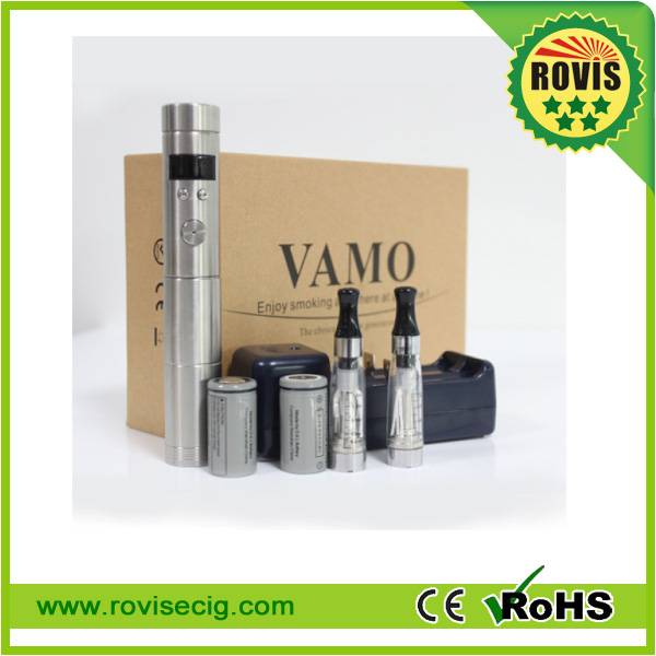 Hot sale E cigarette new stainless steel mod Vamo v5 with digital adjustable voltage function