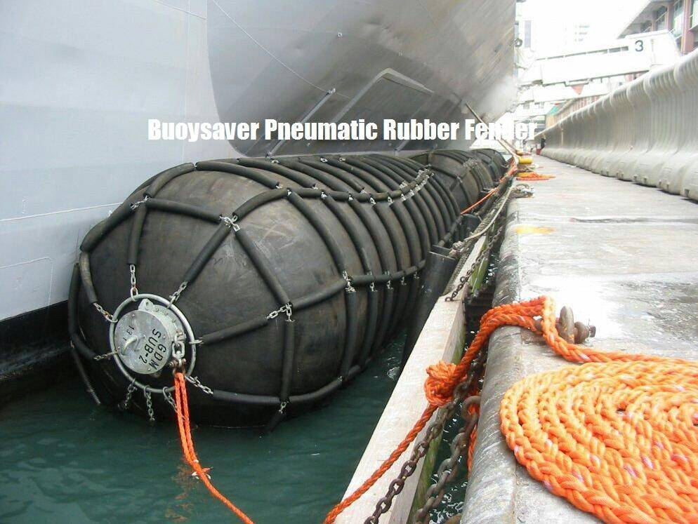 Ribbed Pneumatic Rubber Fender, Dock Fender, Dock Bumper and Ship-to-Dock