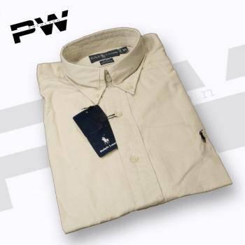 sell man shirt 100% comed cotten