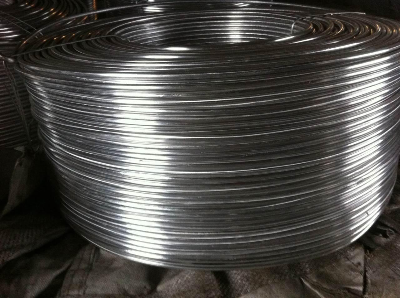 Beryllium aluminium alloy wire