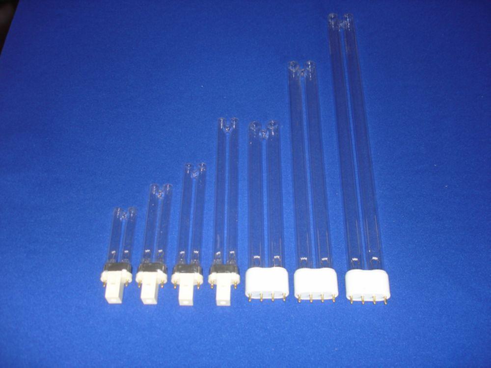 PLL PLS uvc bulb 254nm germicidal lamp 9w 18w 36w 55w G23 2G11 G32