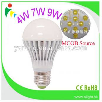 7W M-COB LED Bulbs Hollow out Designed 110V 220V E27