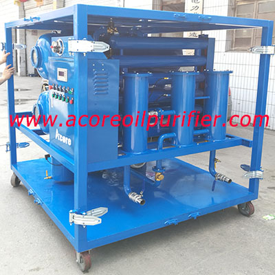 Transformer Insulating Oil Purifier System