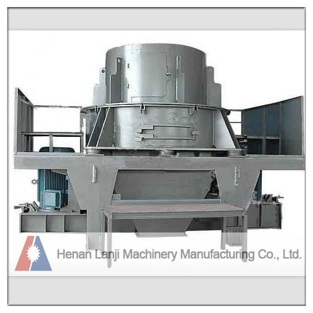 Fine crushing ratio sand making machine for sale
