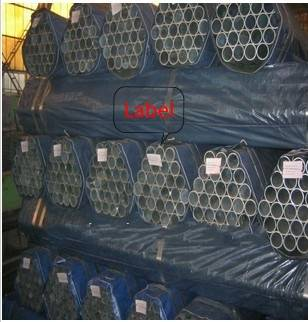 Hot dipped galvanized square pipe structure DN15-DN150