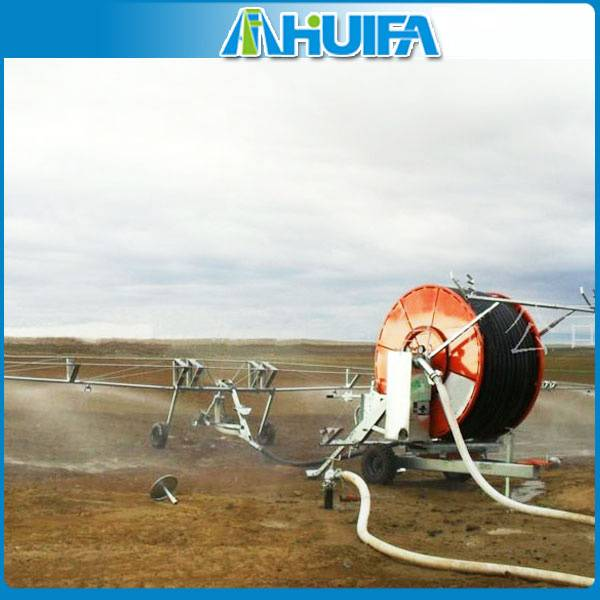 Best Selling Automatic Reel Boom Irrigator For Agriculture
