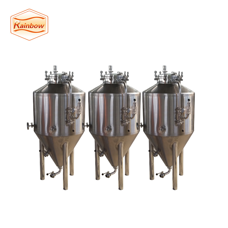 commercial professional conical beer fermenting tank