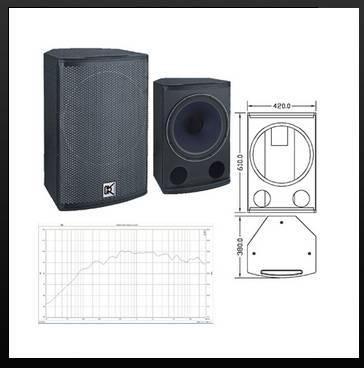 2-way coaxial full range loudspeaker systemCV-15