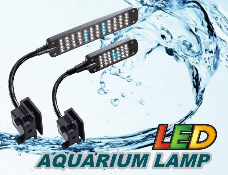 Movable Aquarium LED Clip Lamp 3w