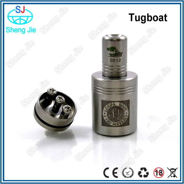 2014 SS 3 post RDA clone tugboat rda with free drip tip