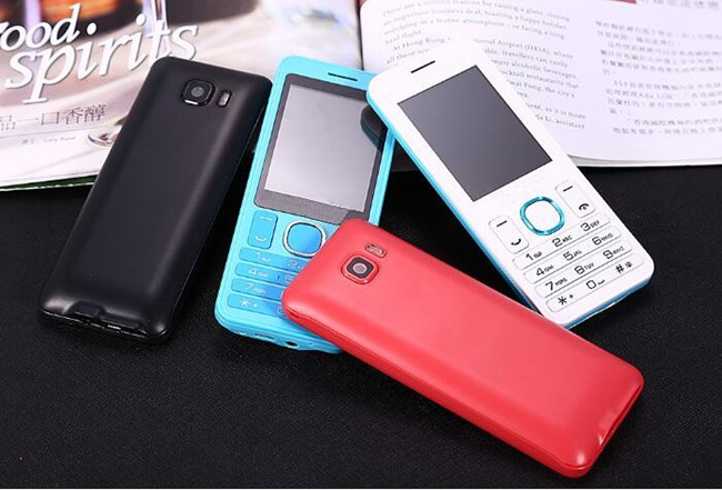 Supply elegant 2.4 inch gprs button cell phone with 1500mAh battery
