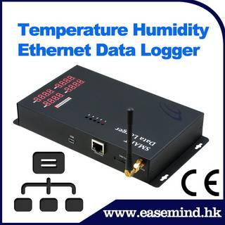 Temperature Humidity Ethernet Data Logger