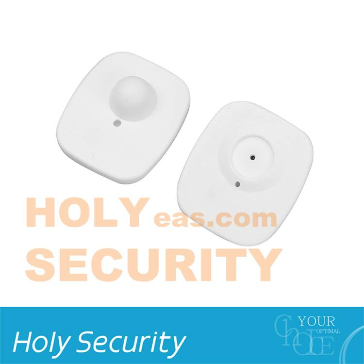 Holy Security Square ABS plastic Remove alarm Tag For Clothing 8.2 MHz rf Eas Hard Tag