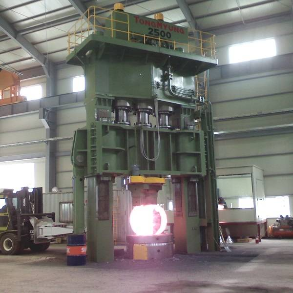 Hot forging press, Forging, Forging press, Steel working, Open die forging