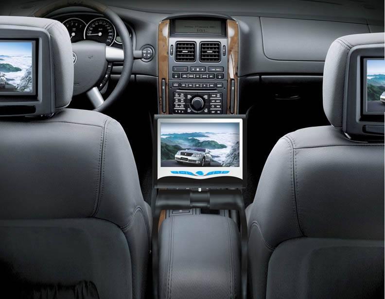 7 8 5 Car Center Console Dvd Bluetooth Ipod Touch Screen Tv